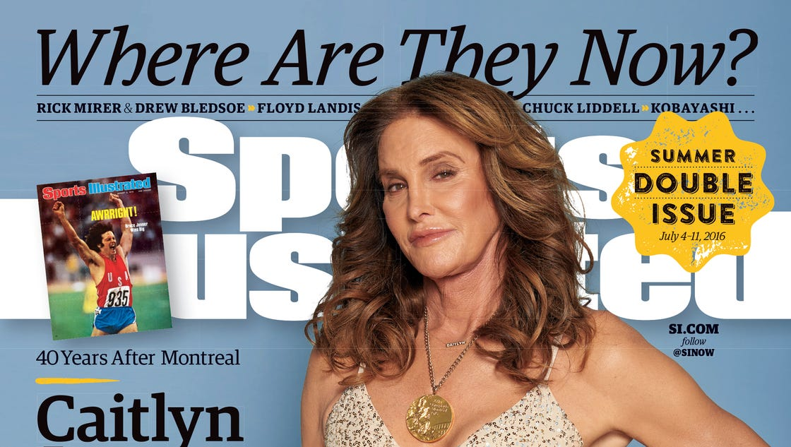 Caitlyn Jenner covers 'Sports Illustrated,' reflects on decathlon and Bruce