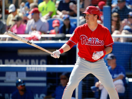 MLB: Spring Training-Philadelphia Phillies at Toronto Blue Jays