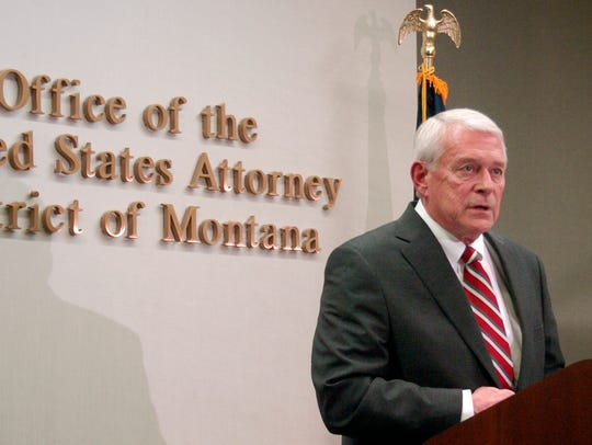 U.S. Attorney for Montana Mike Cotter was forced to
