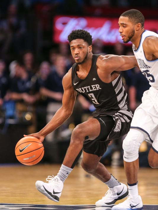 NCAA Basketball: Big East Conference Tournament-Villanova vs Butler