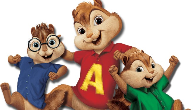 Theodore, Alvin and Simon are the famous singing chipmunks.