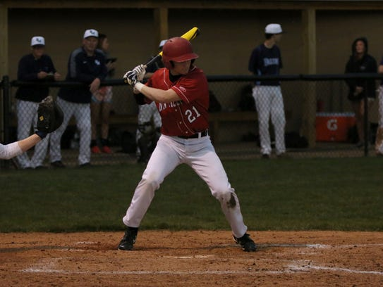Junior Colby Jenkins is one of three Dragons players
