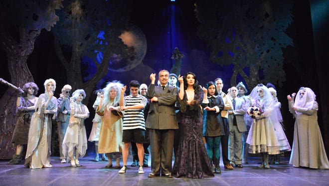 """The Addams Family"" takes the stage at the UTEP Dinner Theater beginning Friday."