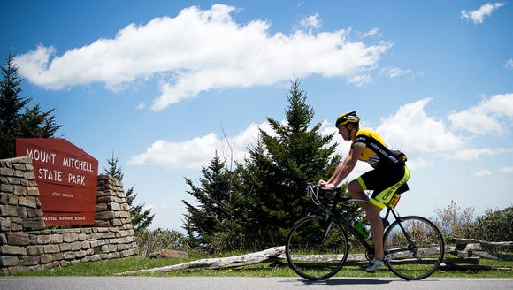 Hundreds of cyclists took on the 102.7-mile self-paced
