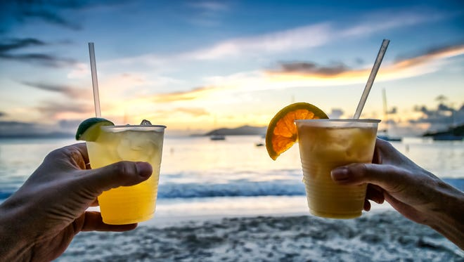 The right beverage can give you that beach vibe without a trip to the beach.