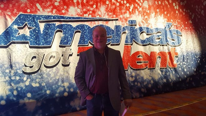 "Grand Ledge resident Steve Spees, 51, at an audition for ""America's Got Talent"" Nov. 14, 2017 at Duke Energy Convention Center in Cincinnati, Ohio."