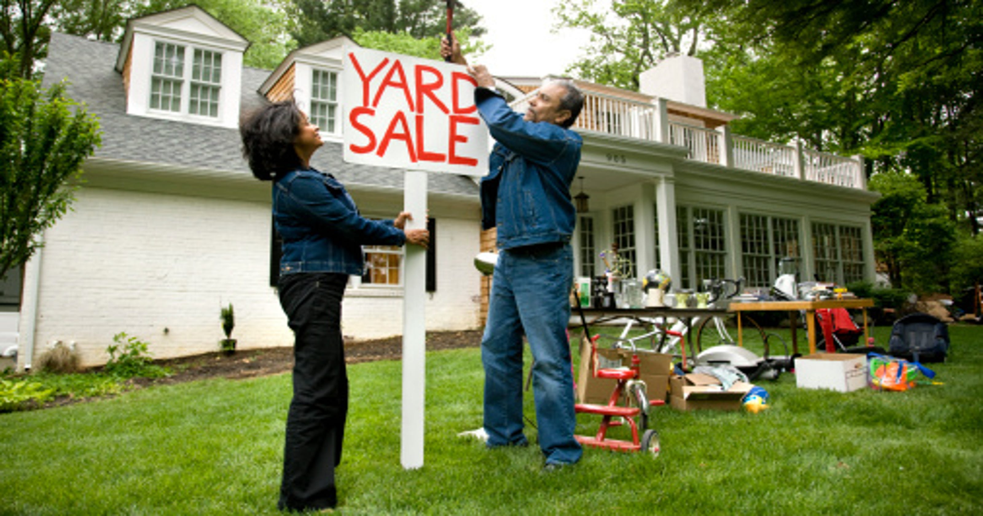Things you should never buy at a yard sale