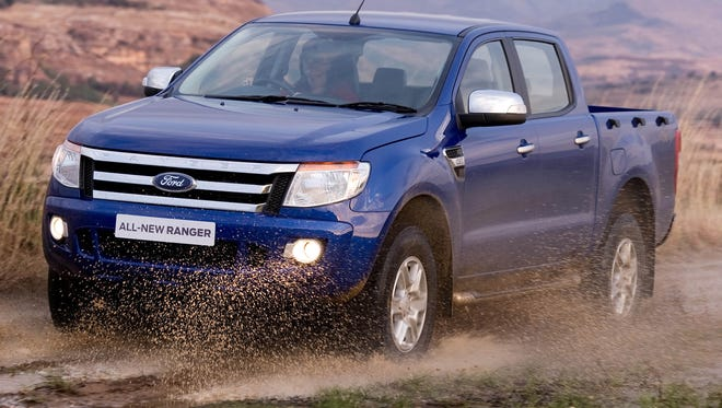 The Ford Ranger, seen in 2011, is sold overseas but not in the U.S.