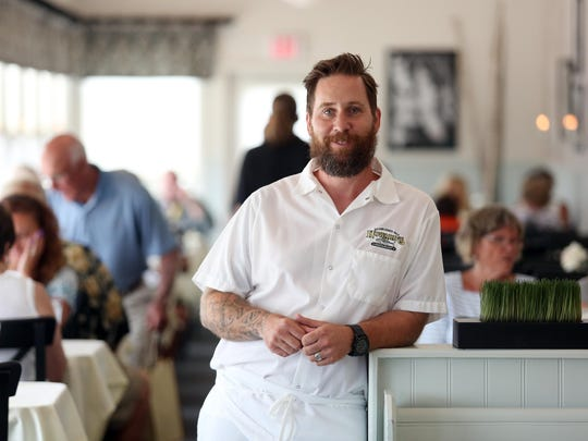 Chef Kevin Sparks is the owner of Howard's Restaurant on Long Beach Island. The restaurant will close for the season Columbus Day weekend.