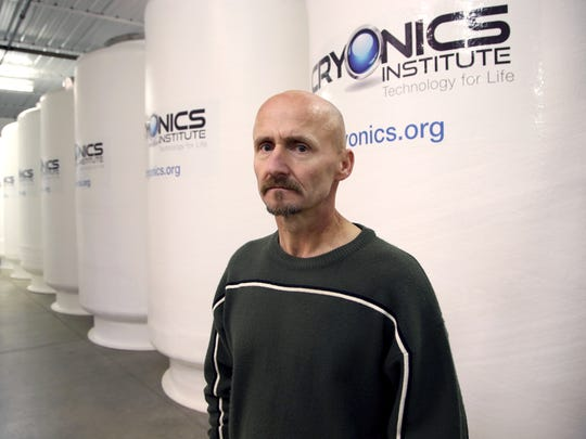 Andy Zawacki, Chief Operations Officer, istands in