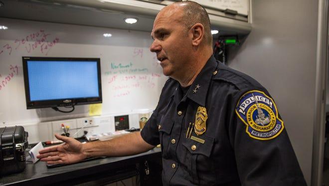 Indianapolis Metropolitan Police Chief Troy Riggs
