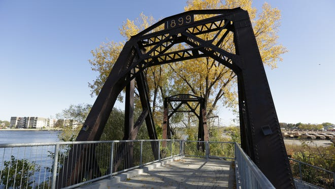 The Oshkosh Riverwalk will be extended to Oregon Street sometime in the fall of 2017, thanks to a bid coming in lower than city officials anticipated. The path goes from the Leach Amphitheater on north side of the Fox River, past the University of Wisconsin- Oshkosh to the WIOWASH Trail and on the river's south side, from Fox Valley Technical College eventually to Oregon Street and Main Street.