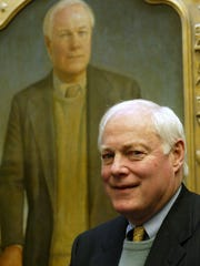 Former Iowa congressman Jim Leach