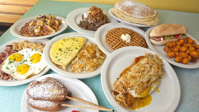 Over Easy boasts a lengthy menu of pancakes, egg dishes and signature entrées.