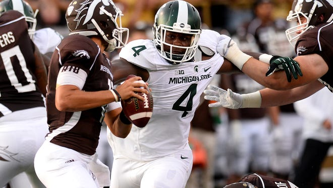Michigan State junior Malik McDowell has changed some of his ways since he arrived on campus, but the intimidating defensive tackle is as headstrong as ever. That determination and stubbornness keeps paying off for MSU.