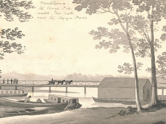 Erie Canal 1825 Drawings (5)