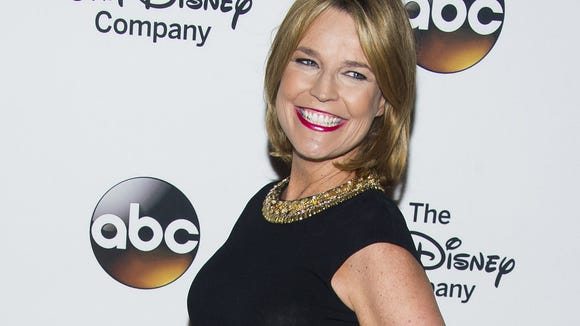 Savannah Guthrie says she uses audio books to keep her kids occupied.