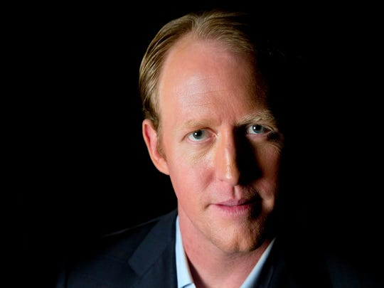 Retired Navy SEAL Robert O'Neill, 38, who says he shot and killed Osama bin Laden, poses for a portrait in Washington on Nov. 14.