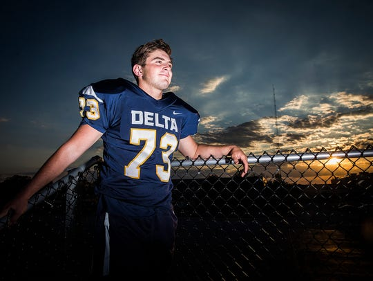 Delta's Brady Edwards is a two-year starter on the