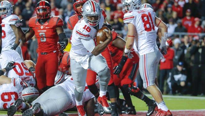 Ohio State vs. Rutgers Big Ten football