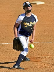Greencastle's Olivia Remenick is one of a select few of returners for the Blue Devils in 2018.