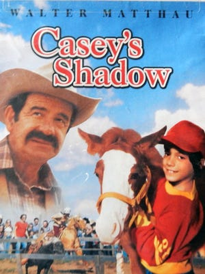 """""""Casey's Shadow"""" (1978) starring Walther Matthau and Michael Hershewe is directed by Martin Ritt, based on the short story """"Ruidoso"""" by John McPhee and filmed in Louisiana and Ruidoso, New Mexico"""