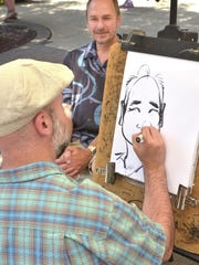 Last year, Neal Michaels of Plymouth had a caricature