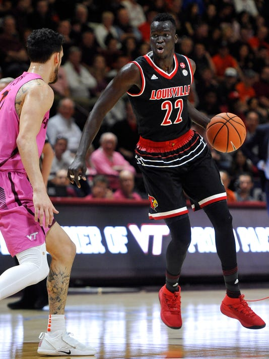NCAA Basketball: Louisville at Virginia Tech