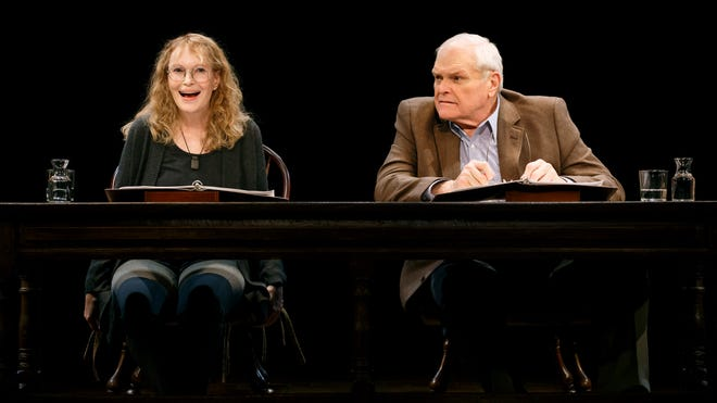 """Mia Farrow and Brian Dennehy teamed up for """"Love Letters."""""""