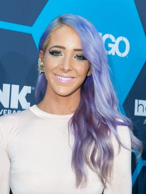 YouTube star Jenna Marbles arrives at the 16th Annual Young Hollywood Awards on July 27.
