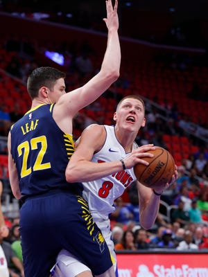 Henry Ellenson has had a solid preseason for the Detroit Pistons.