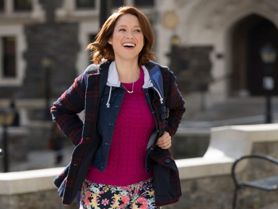 "Ellie Kemper stars in ""Unbreakable Kimmy Schmidt."""