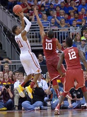 Iowa State's Monte Morris averages 11.8 points and 3.4 rebounds. But his true value comes in his decision-making. He didn't have a turnover in 120 minutes of action in the Big 12 Tournament.