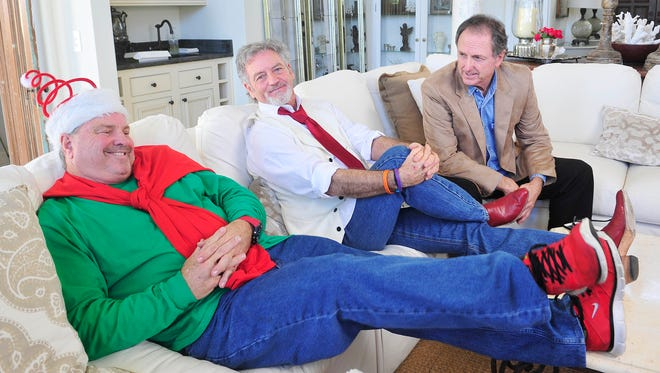 Steve, Larry and Rudy Gatlin discuss their Christmas show, which continues at Gaylord Opryland Resort & Convention Center through Dec. 26.