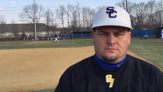 Spotswood head baseball coach Glenn Fredricks