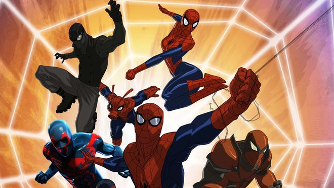 "Spider-Man and a variety of web-swingers from alternate realities come together in the upcoming season of ""Marvel's Ultimate Spider-man: Web Warriors."""