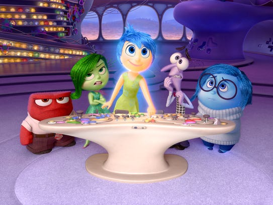 'Inside Out' goes inside the mind of Riley, a girl