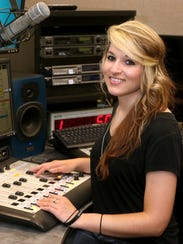 Shelbi Bruse, an MTSU senior audio production major