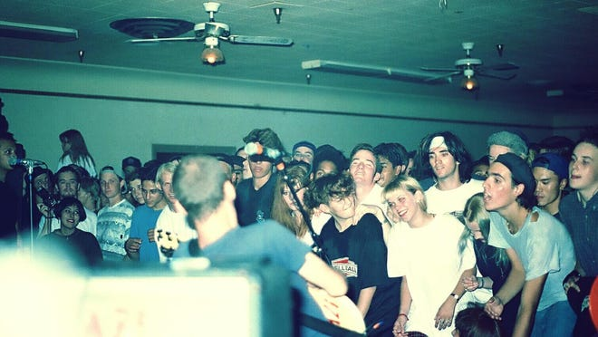 "Fugazi plays Fresno in 1991. A documentary about the concert, ""Floradora,"" will screen Friday, Dec. 2 at the Cellar Door in Visalia."