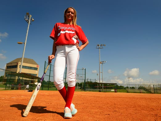 All-Metro softball player Deven Kennedy, of Macon East Academy, at Lagoon Park in Montgomery, Ala. on Thursday June 12, 2014.