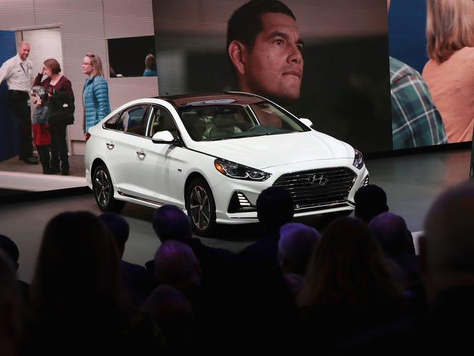 Chicago auto show the latest models for Hyundai motor company usa