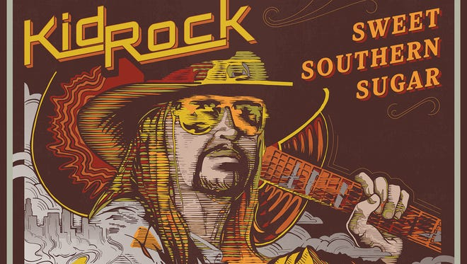 """Album cover for Kid Rock's """"Sweet Southern Sugar"""""""