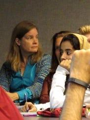 Miranda Schreurs, a renewable energy expert from Berlin,