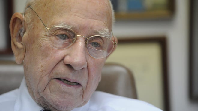 Recently hospitalized, legendary Twin Lakes Area legal icon Roy Danuser passed away early Friday morning at the age of 97. Funeral arrangements are being handled by Roller Funeral Home.