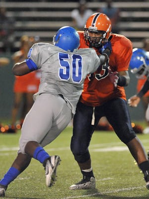 Callaway offensive tackle Tommy Champion will enroll at Co-Lin in January