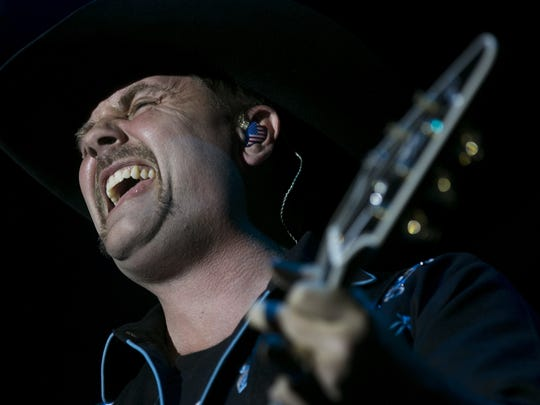 John Rich from Big & Rich performs on the main stage