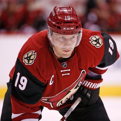 Arizona Coyotes captain Shane Doan is pacing the team