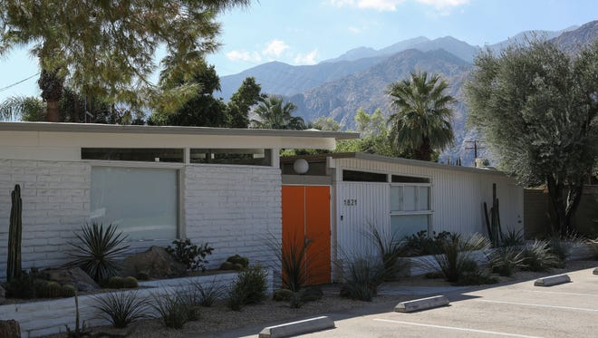 1821 E. Amado Road in Palm Springs was a former vacation rental.