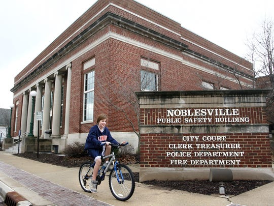 The Noblesville Public Safety Building.