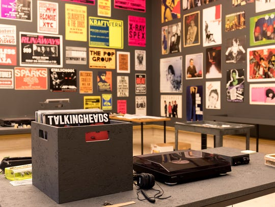 "The exhibit ""Too Fast to Live, Too Young to Die: Punk"